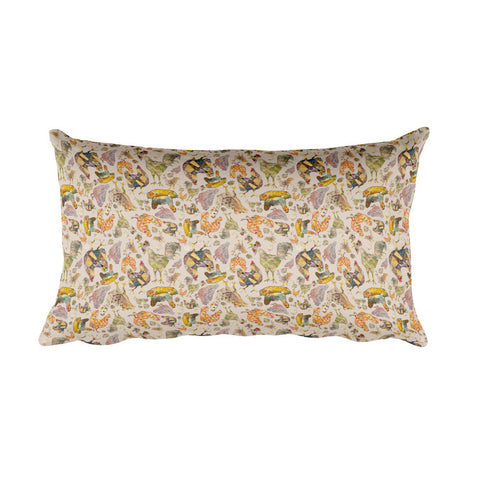 Chicken Flock - Rectangular - Pillows -A TAD AND MORE Designs - Cooking Up a Story product line
