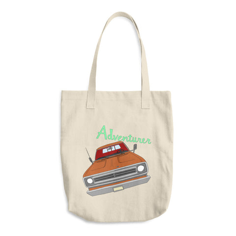 Rambler Adventurer - Cotton Tote Bags - Tote Bags -A TAD AND MORE Designs - Cooking Up a Story product line