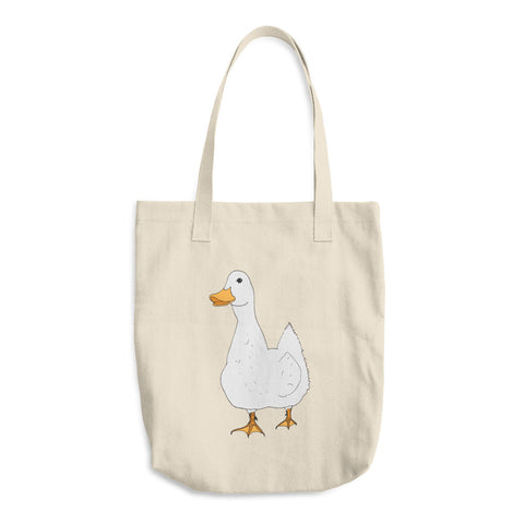 Myrtle Duck - Cotton Tote Bags - Tote Bags -A TAD AND MORE Designs - Cooking Up a Story product line