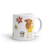 Dairy Cow - Ceramic Mugs - Ceramic Mugs - A TAD AND MORE Designs -The Cooking Up a Story product line