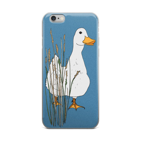 Myrtle Duck- Blueberry - iPhone Cases - iPhone Cases - A TAD AND MORE Designs -The Cooking Up a Story product line