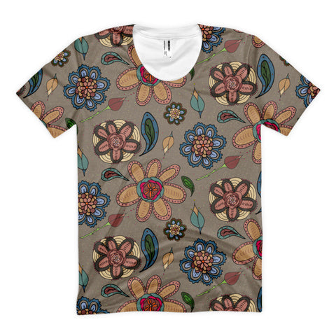 Daisies - Women's All-Over Tops - Women's All-Over Tops - A TAD AND MORE Designs -The Cooking Up a Story product line