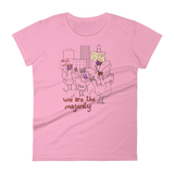 Nasty Woman Flock with Pussy Hats - Ladies Ringspun Cotton