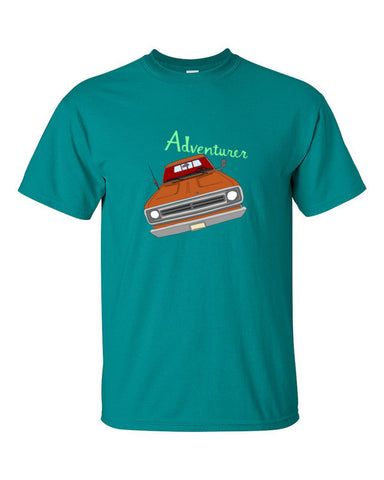 Adventurer Truck - T-Shirts - Short Sleeve T-Shirts - A TAD AND MORE Designs -The Cooking Up a Story product line