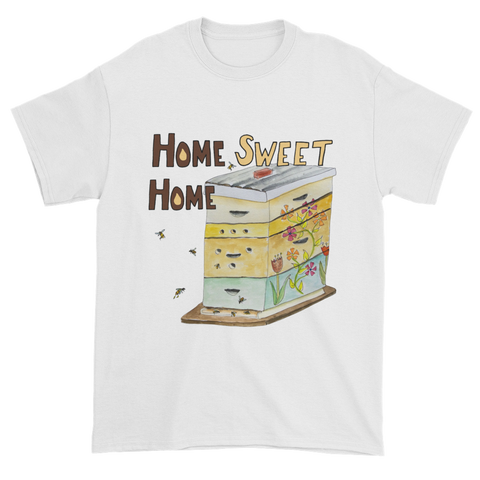 Home Sweet Home Beehive - Short Sleeve T-Shirts