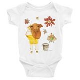 Dairy Cow - Infant Onesies - Infant Onesies - A TAD AND MORE Designs -The Cooking Up a Story product line