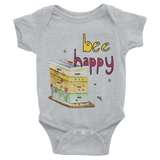 Bee Happy - Infant Onesies