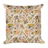 Chicken Flock - Pillows -A TAD AND MORE Designs - Cooking Up a Story product line