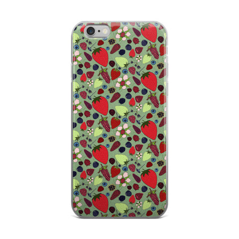 Berries - iPhone Cases - iPhone Cases - A TAD AND MORE Designs -The Cooking Up a Story product line