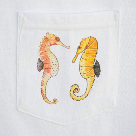 Seahorses - Pocket T-Shirts - A TAD AND MORE - Cooking Up a Story