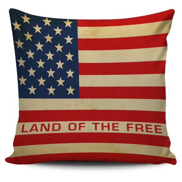 USA Flag Patriotic Pillow Cover Set