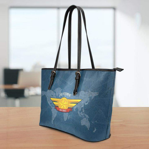 AF-CA Large Leather Tote Bag