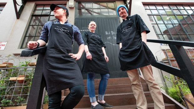 Sustainable uniforms for Wellington Chocolate Factory