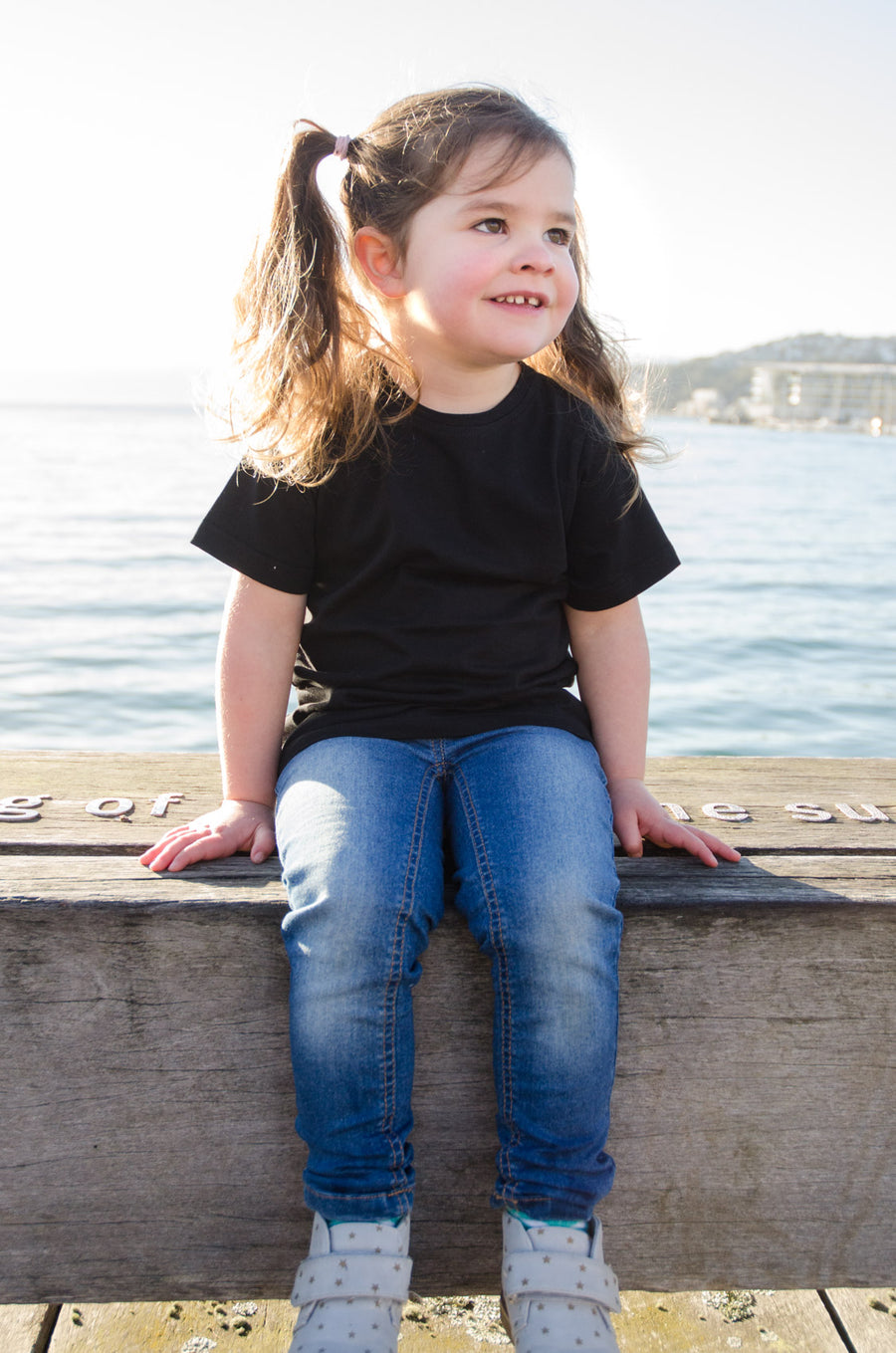 100% organic cotton kids tees