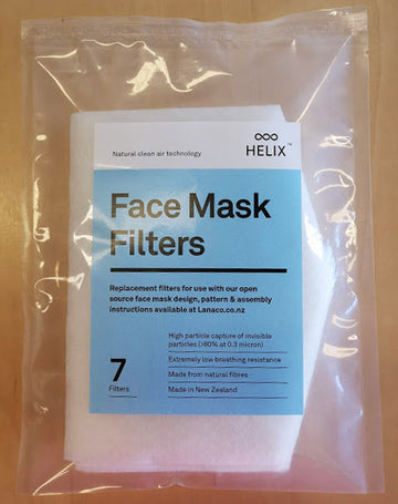 Face Mask Filters - Pack of 7