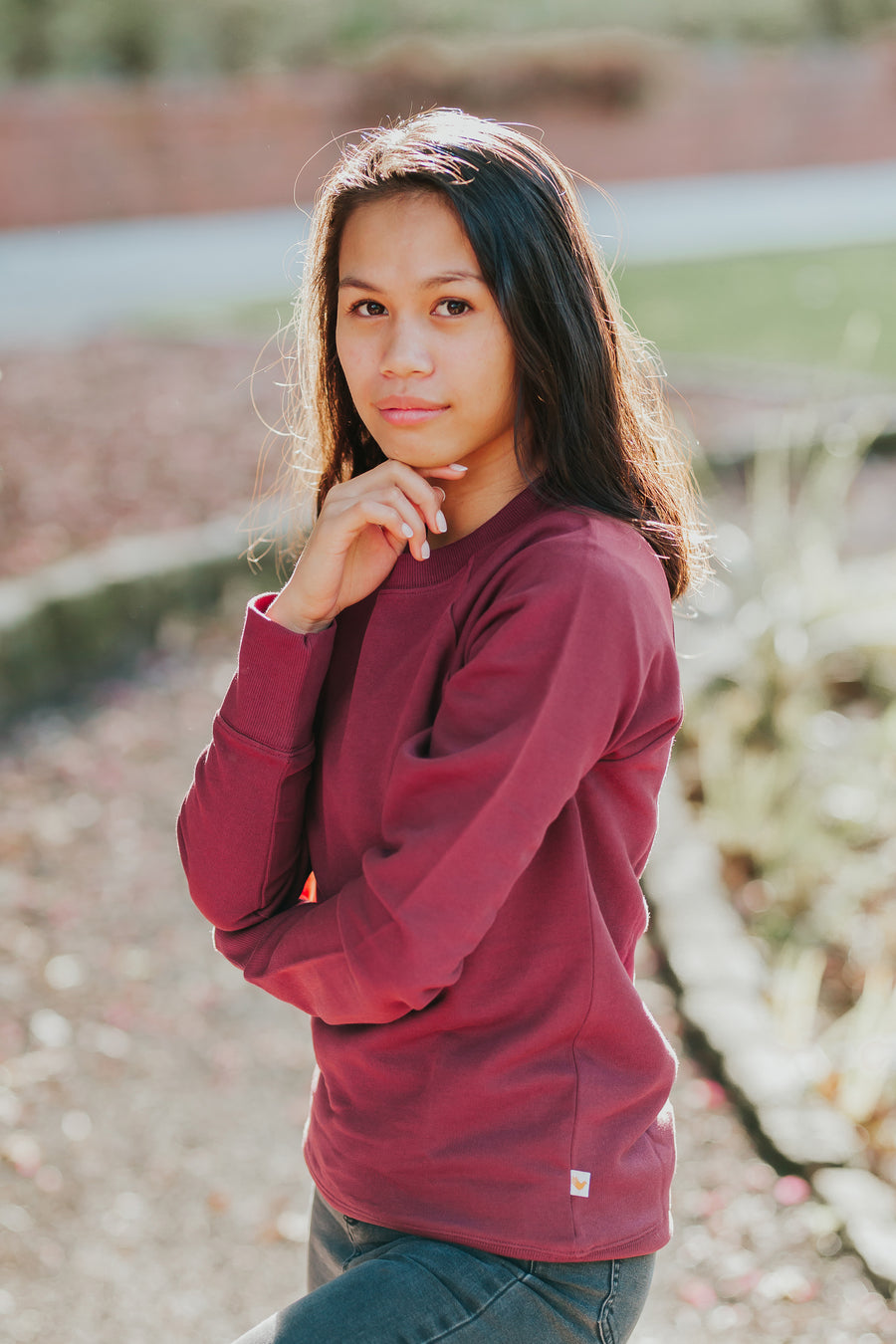 Bernie Sweater - Burgundy