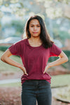 Women's Tui Tee - Burgundy