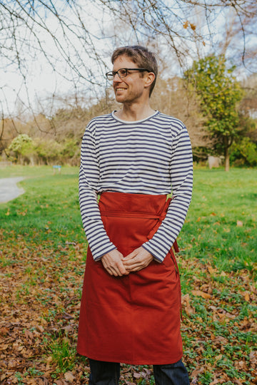 Pepper Apron - 3/4 Length - Rust