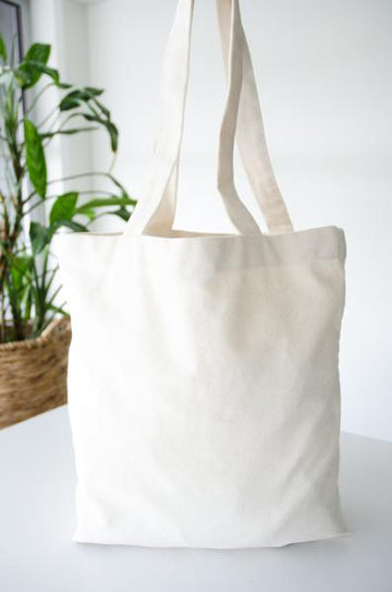 100% Organic Cotton Tote Bag - LittleYellowBirdNZ