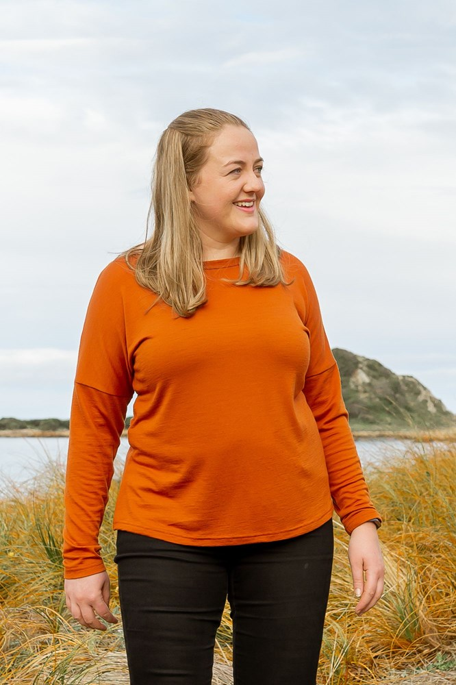 Fitted Merino Mid-layer Long Sleeve