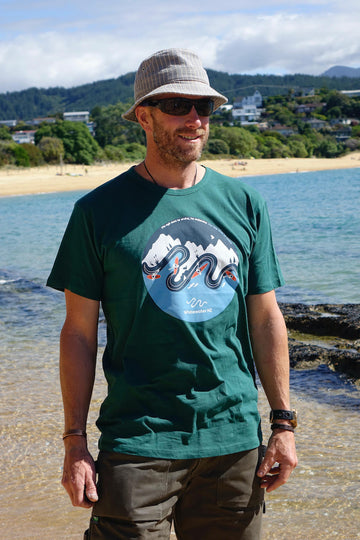 Whitewater NZ Tui Tee. 1001