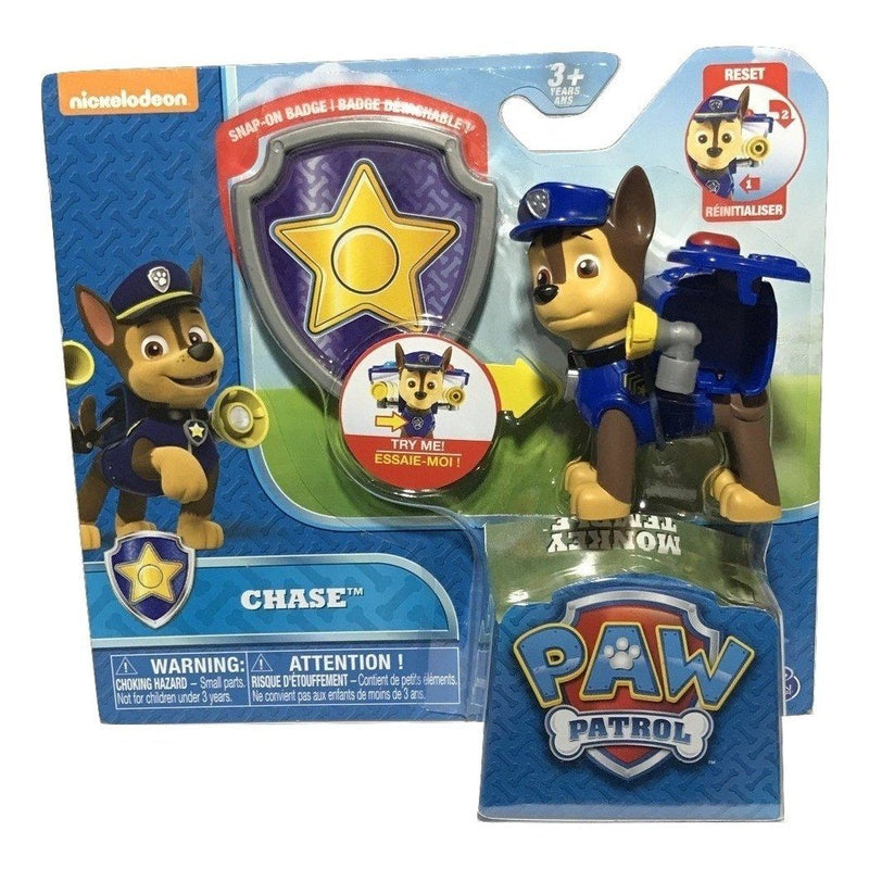 Paw Patrol Pup and Badge Chase Action Pack