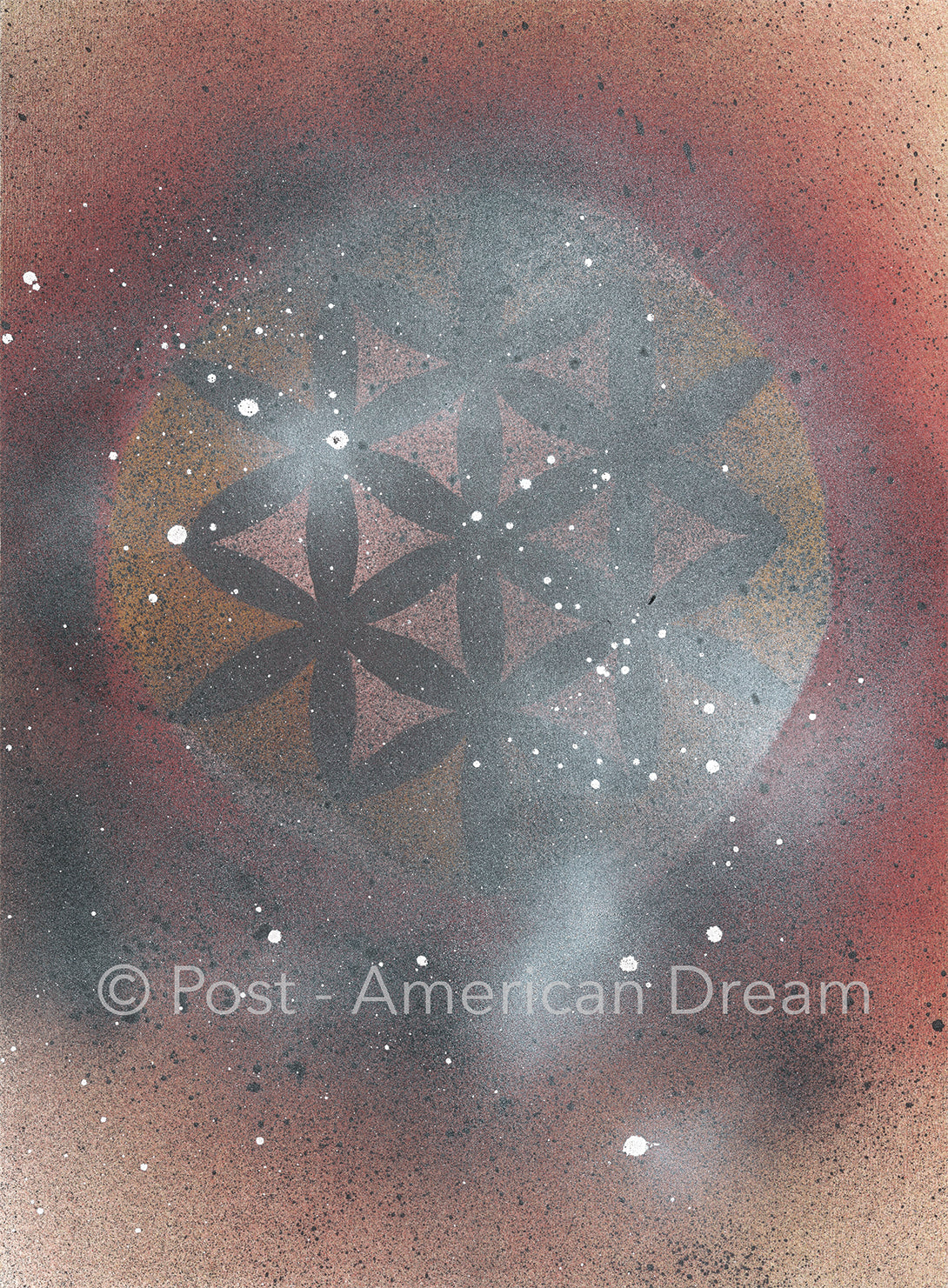"Limited Edition Art Print: ""Flower of Life Sunrise"""