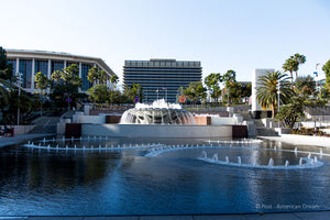 "Limited Edition Photo Print: ""The Fountains at Grand Park"""
