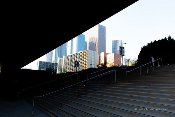 "Limited Edition Photo Print: ""View from the US Courthouse DTLA"""