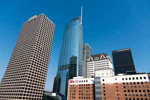 "Limited Edition Photo Print: ""Towers along Figueroa"""