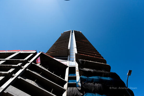 "Limited Edition Photo Print: ""View of Oceanwide Tower"""