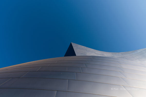 "Limited Edition Photo Print: ""Disney Concert Hall against the Sky"""