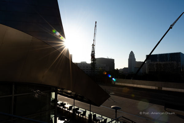 "Limited Edition Photo Print: ""View from Disney Concert Hall"""
