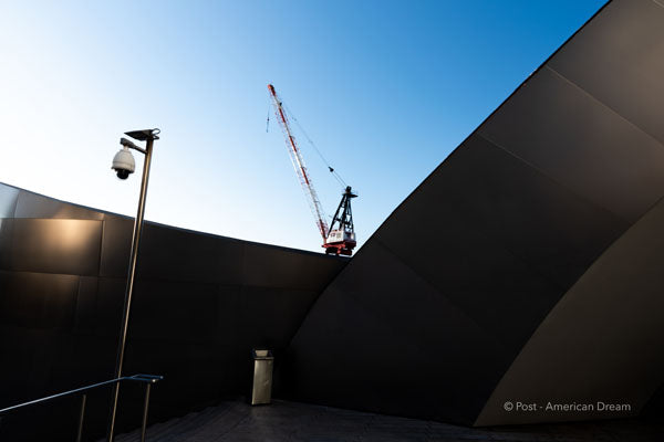"Limited Edition Photo Print: ""Crane behind Disney Concert Hall"""
