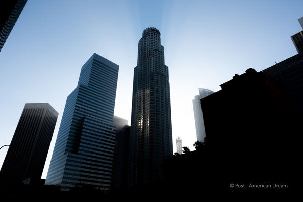 "Limited Edition Photo Print: ""View from City National Plaza"""