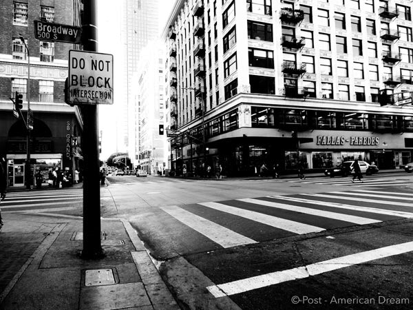 "Limited Edition Photo Print: ""5th x Broadway"""