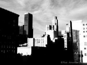 "Limited Edition Photo Print: ""Classic View DTLA"""
