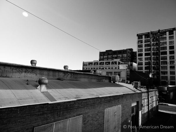 "Limited Edition Photo Print: ""Fashion District Warehouses"""
