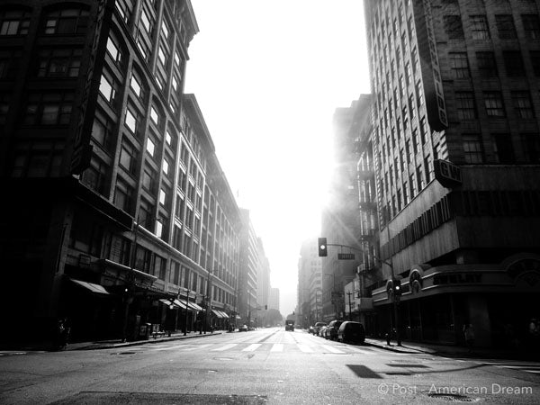 "Limited Edition Photo Print: ""Hill St. in the Morning"""