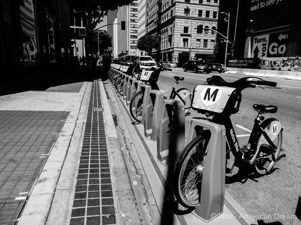 "Limited Edition Photo Print: ""Metro Bikes"""