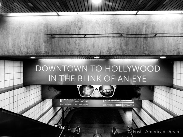 "Limited Edition Photo Print: ""Downtown to Hollywood"""