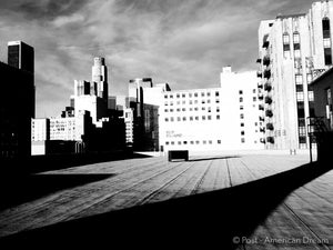 "Limited Edition Photo Print: ""South Park Parking Lot Rooftop"""