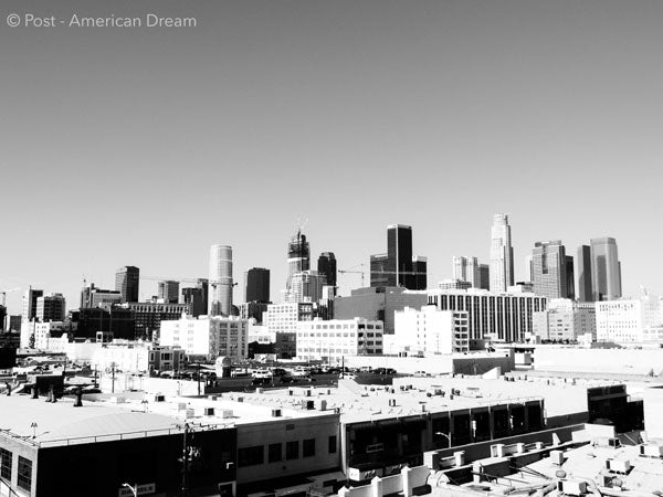 "Limited Edition Photo Print: ""View from the Fashion District"""