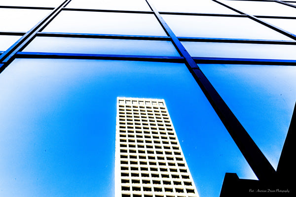 "Limited Edition Photo Print: ""View from Maunlife Investment Plaza"""