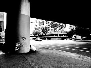 "Limited Edition Photo Print: ""4th x Figueroa"""