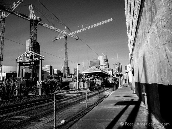 "Limited Edition Photo Print: ""Cranes over South Park"""