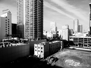 "Limited Edition Photo Print: ""View from South Park Rooftop"""