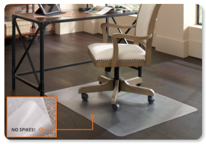 home mats carpet office protection plastic with chair and