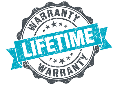 Lifetime Warranty on Custom Chair Mats