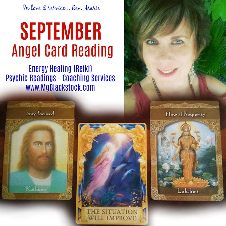 September Angel Oracle Carding Reading - Situation Will Improve